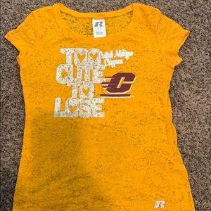 Girls Central Michigan University T-shirt